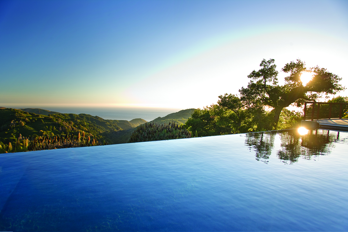 Custom Home Big Sur Pool