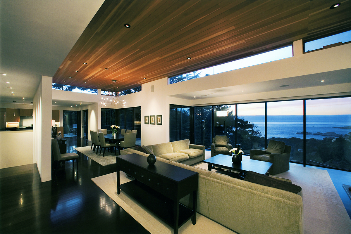 Custom Home Carmel Living Room