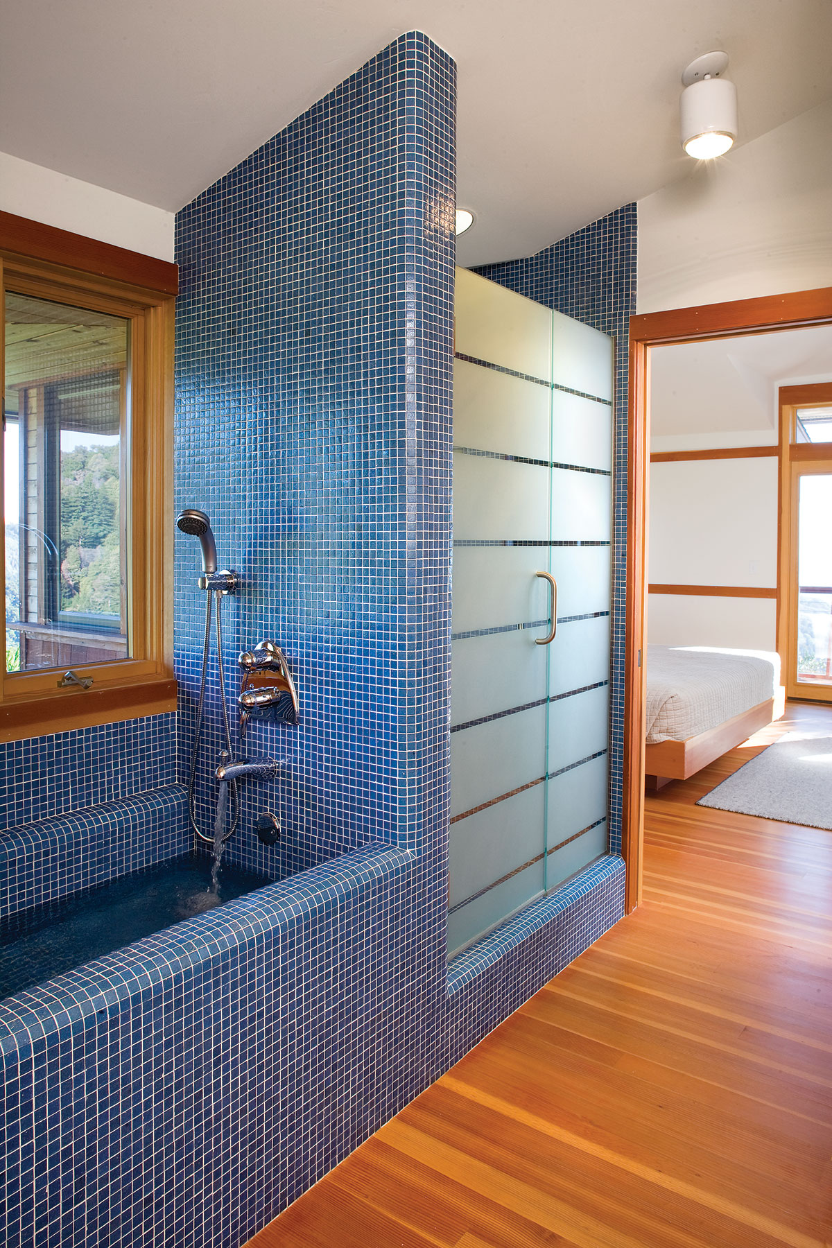 Custom Home Big Sur Bathroom remodel